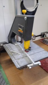 metal cutting bandsaw burgess