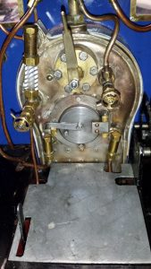 "Polly V, Live Steam, 5""model locomotives"