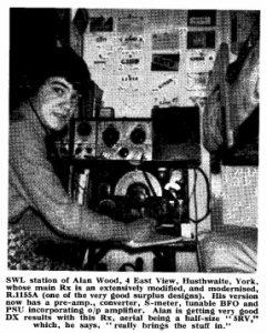 short wave radio, radio amateur