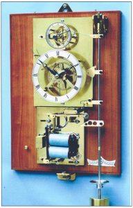 William Smith, Gearless Clock, Gravity Arm