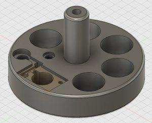 Fusion360. Laser Centring Disc