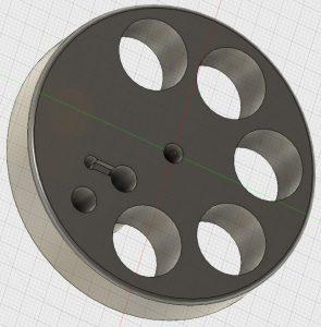 Fusion360 Laser Centring Tool