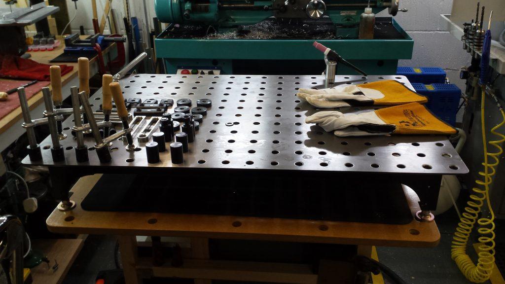 TIG welding, FixturePoint, stronghandtools