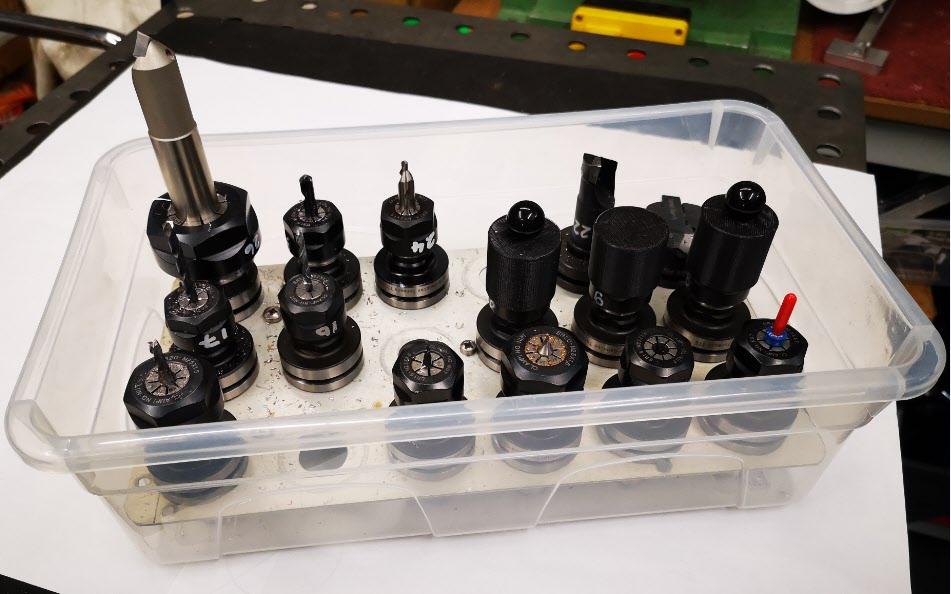 Tormach TTS tool storage