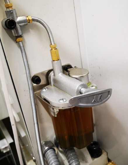 Tormach manual oiler reservoir