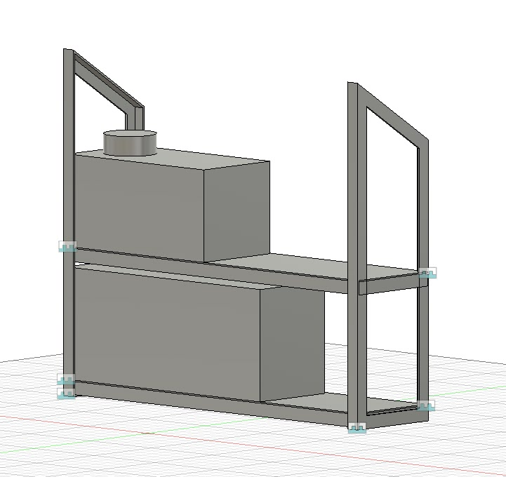 diesel heater enclosure fusion 360 model