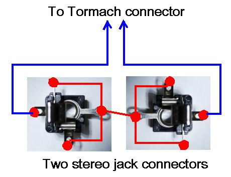 wiring two jack sockets for the probes on a tormach