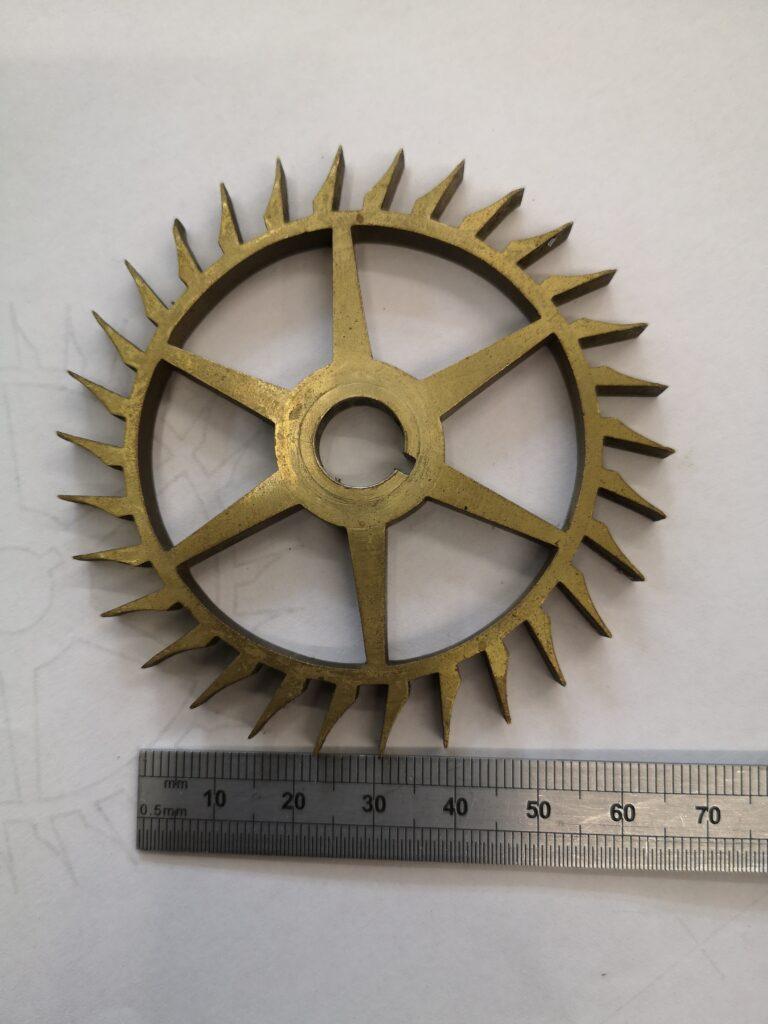 Brocot 30 tooth escape wheel