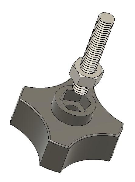 3D printed knob