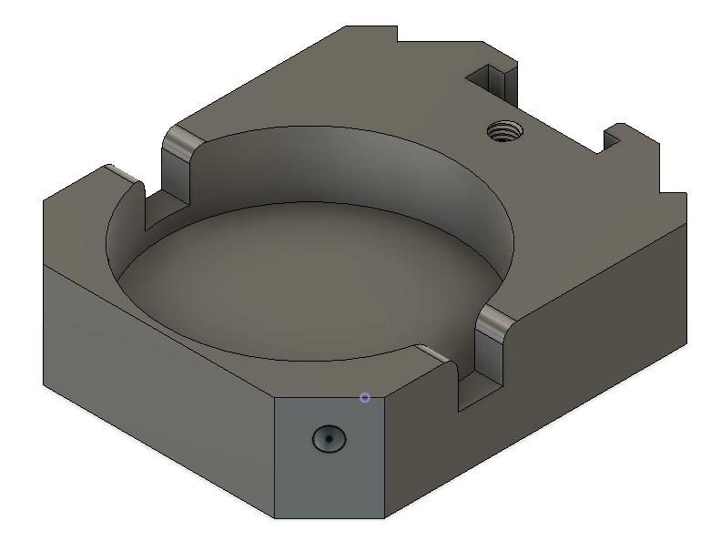 dial gauge holder for Myford QCTP